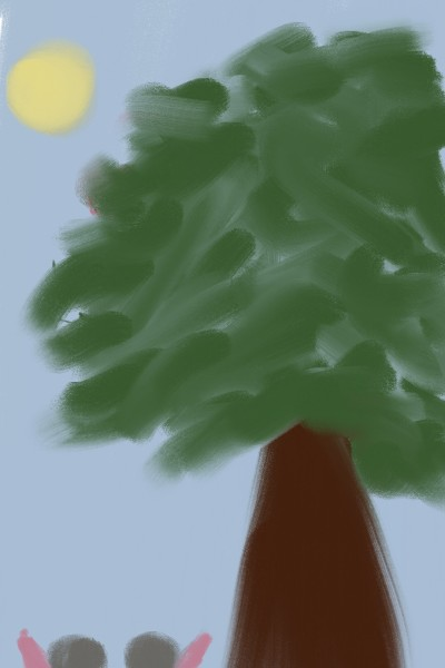 trees    sunhwa   Digital Drawing   PENUP