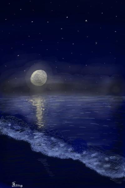 Ночь   Victoria   Digital Drawing   PENUP