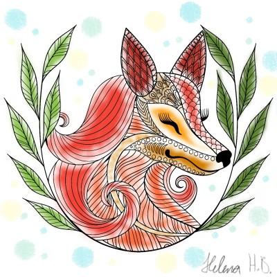 Foxi!  | Zelda_Kriegerin | Digital Drawing | PENUP