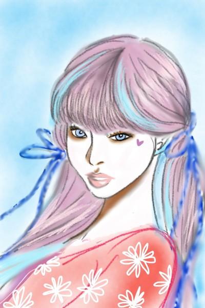 Portrait Digital Drawing | onelove | PENUP