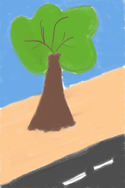 child's drawing tree | Ario | Digital Drawing | PENUP