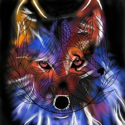 Fox   J-O-C   Digital Drawing   PENUP