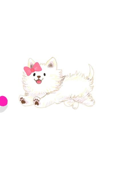 Whose my playful buddy | Barbie | Digital Drawing | PENUP