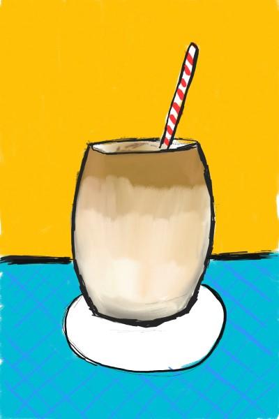 Ice coffee  | Magenta5119 | Digital Drawing | PENUP