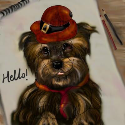 Hi!♡♡♡   aristina.z   Digital Drawing   PENUP