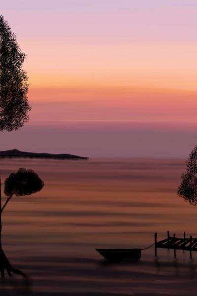 Landscape Digital Drawing | grgm | PENUP