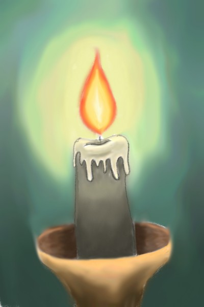 Candle | Stuti | Digital Drawing | PENUP