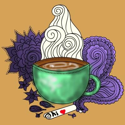 coffee cup  | H.M_ART | Digital Drawing | PENUP