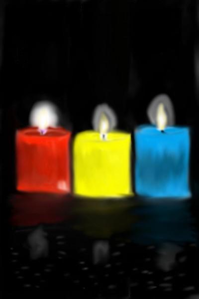 Candles  | Mark349 | Digital Drawing | PENUP