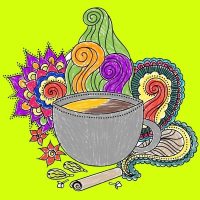 #morningtea #topofthemorning | bigveney24 | Digital Drawing | PENUP