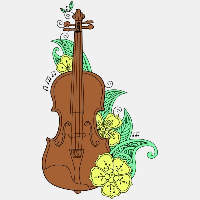 Скрипка.. Violin.. | Alexs | Digital Drawing | PENUP