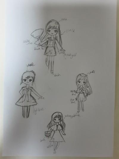 귀여운 요정(?)들~♡   BlackPink   Digital Drawing   PENUP