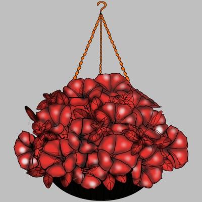 red flowers | H.M_ART | Digital Drawing | PENUP