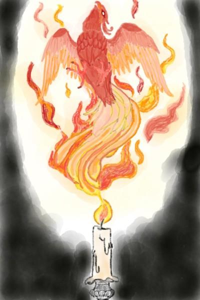 Phoenix | Natasha | Digital Drawing | PENUP