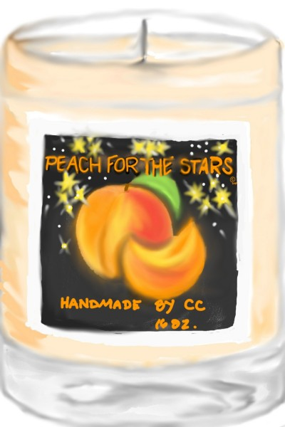 Candle Concepts,  Peach | TeeTee | Digital Drawing | PENUP