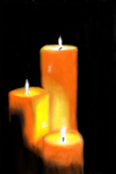 Candles    Mark349   Digital Drawing   PENUP