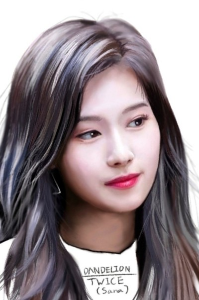 TWICE (Minatozaki Sana) | -DANDELION- | Digital Drawing | PENUP