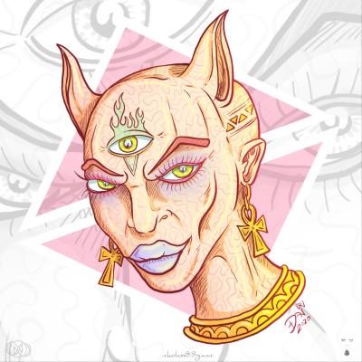 Sphinx by nikolass  | nikolass83 | Digital Drawing | PENUP