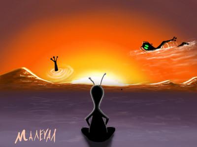 Sun   maleval_sam   Digital Drawing   PENUP