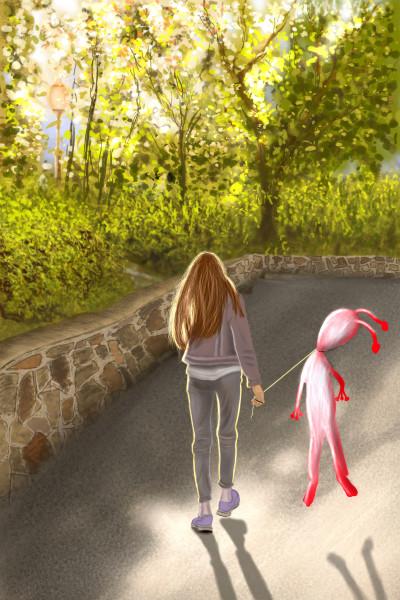 Sonia & Sun | maleval_sam | Digital Drawing | PENUP
