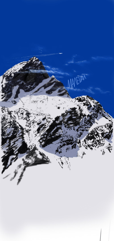Montain | maleval_sam | Digital Drawing | PENUP