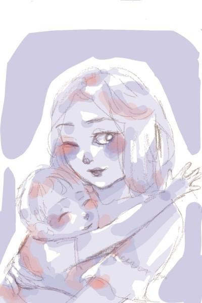 motherhood   mads   Digital Drawing   PENUP