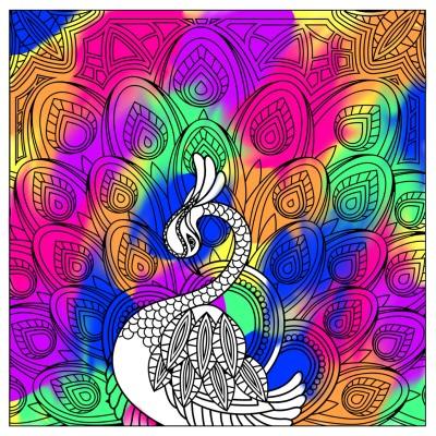 Coloring Digital Drawing   Raha.   PENUP