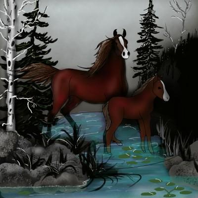 horses   ramdan1111   Digital Drawing   PENUP