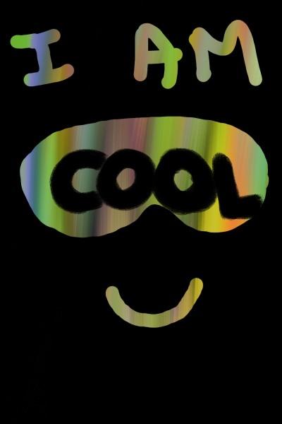 I am cool Wallpaper  | A.K.G_INDIA | Digital Drawing | PENUP