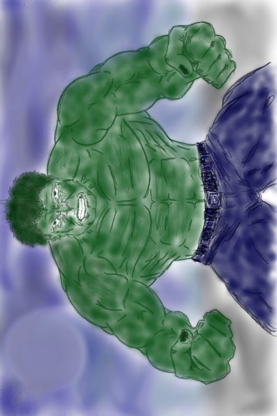 hulk collab w/ JeronimoMailson  | Rhonda | Digital Drawing | PENUP