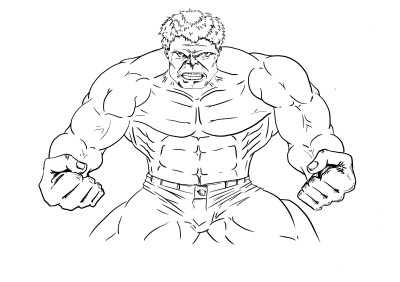 Collab with the Incredible Hulk!   JeronimoMailson   Digital Drawing   PENUP