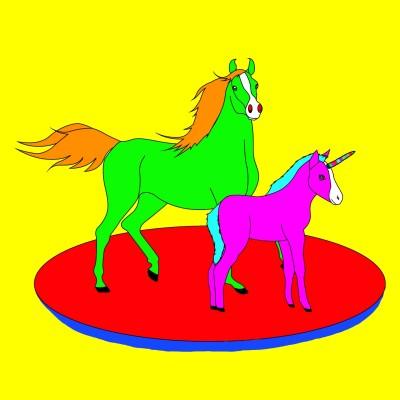 Baby Unicorn!    Bekkie   Digital Drawing   PENUP