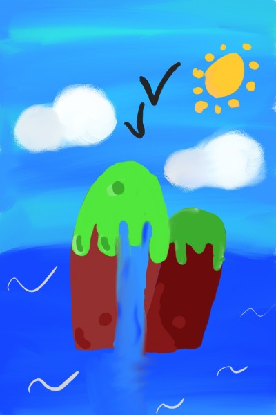 Two Islands   Korral_Flex   Digital Drawing   PENUP