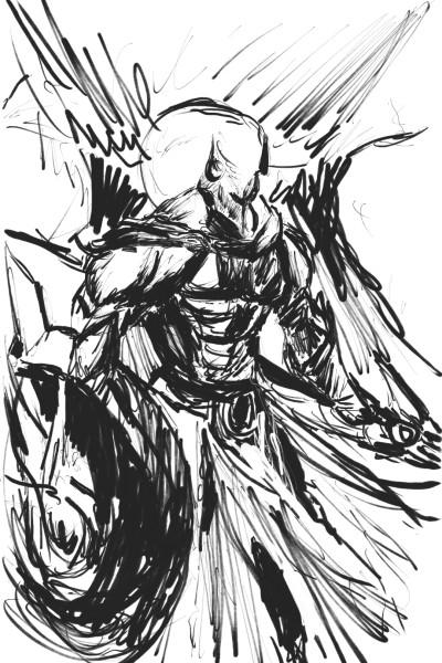 10 min pantheon | drawing_noob | Digital Drawing | PENUP