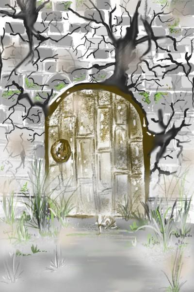 Door on a wall | KAS123 | Digital Drawing | PENUP