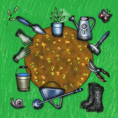 Gardening  | Sylvia | Digital Drawing | PENUP