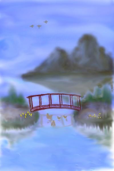 Duck park   Rhonda   Digital Drawing   PENUP