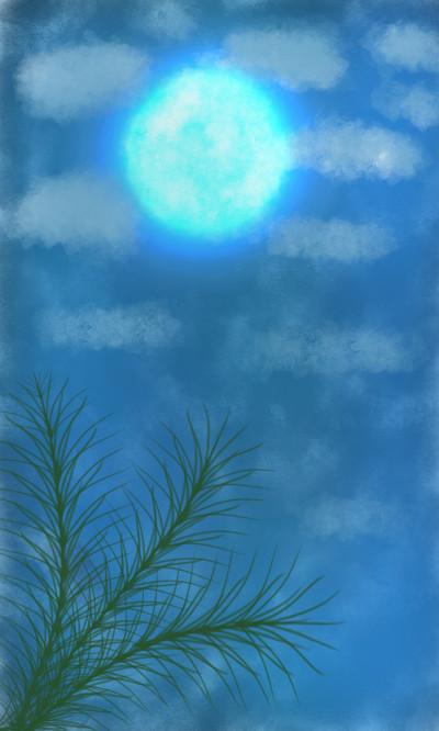 night sky | flowerflower | Digital Drawing | PENUP
