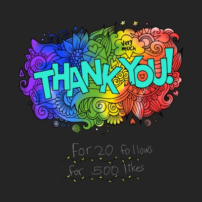 Thank you | A.KGandhi_INDIA | Digital Drawing | PENUP