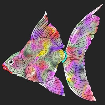 Fish   A.K.G_INDIA   Digital Drawing   PENUP