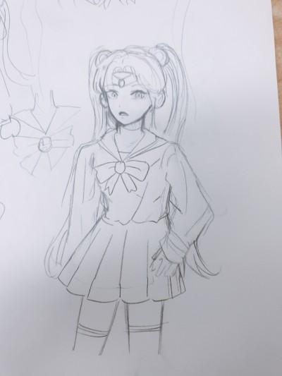 2 ((세일러문 | brotherlightpan | Digital Drawing | PENUP