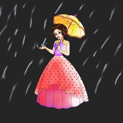 Rainy day   A.K.G_INDIA   Digital Drawing   PENUP