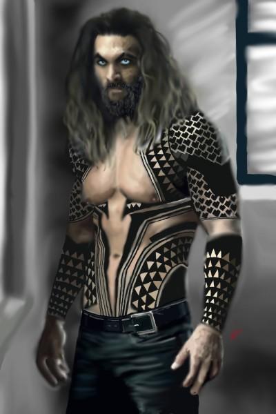 Aquaman Jason Momoa  | Rebecca | Digital Drawing | PENUP