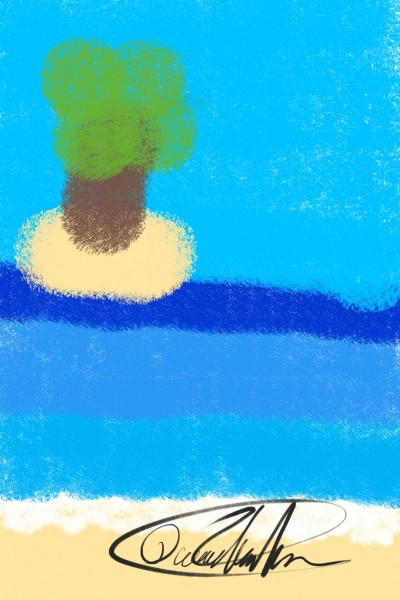 Simple art | Hipstachio | Digital Drawing | PENUP