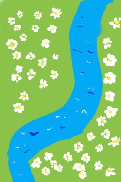 데이지와 강 | Somzi | Digital Drawing | PENUP