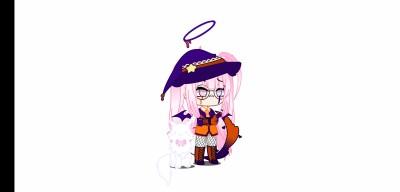 Me in Halloween  | Lunagumball | Digital Drawing | PENUP