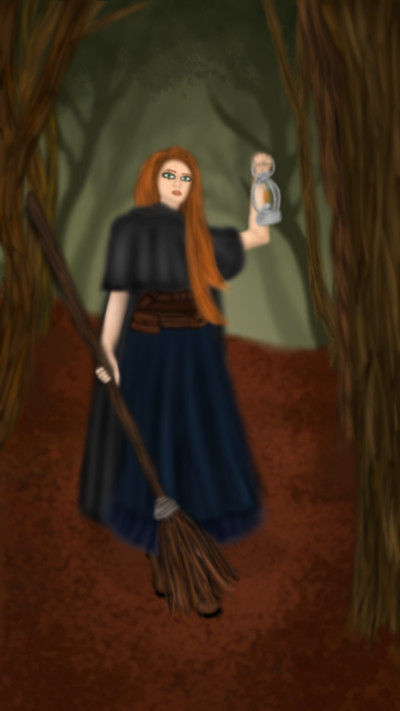 forest witch | Veronica | Digital Drawing | PENUP