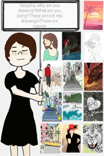 Thank you to everyone who loves my work | Natasha | Digital Drawing | PENUP