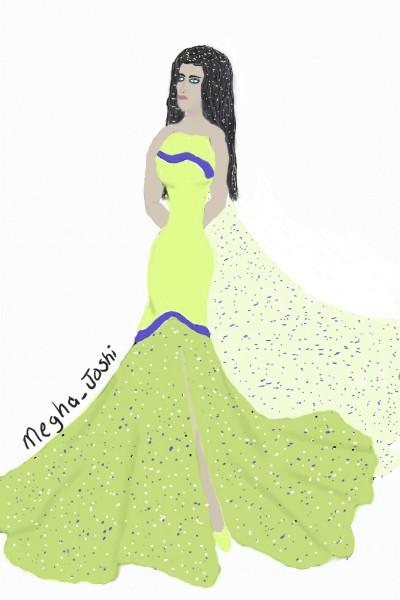a queens dress | Rhonda | Digital Drawing | PENUP