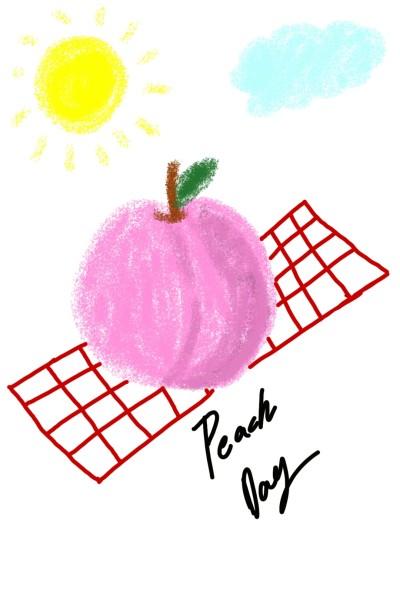 Peachy Blushy | paige | Digital Drawing | PENUP